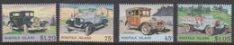 Norfolk Island ASC 571-574 1995 Vintage Vehicles, Mint Never Hinged - Norfolk Island