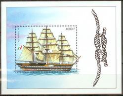 Guinea 2002 Mi# Bl715 MNH Cv Eur6 Ships - Schiffe