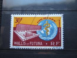 VEND BEAU TIMBRE DE POSTE AERIENNE DE WALLIS ET FUTUNA N° 27 , XX !!! - Airmail