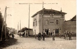 38. Marcilloles. Avenue De La Gare. Hotel Brenier - Autres Communes