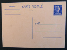 FRANCE - 1955 -1011b CP 1- MARIANNE DE MULLER 20F - Ganzsachen