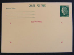 FRANCE - 1969 - 1611 CP2 - MARIANNE DE CHEFFER - Ganzsachen