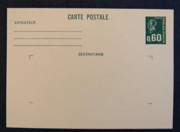 FRANCE - 1975 - 1814 CP1 - MARIANNE DE BEQUET 0.60 - Ganzsachen