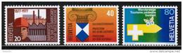 CH 1977 MI 1109-11 ** - Nuevos