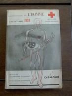 Exposition De L'  HOMME 1938   La  CROIX - ROUGE De BELGIQUE - Croix-Rouge