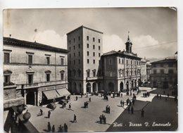 Rieti - Piazza V. Emanuele - Animata - Rieti