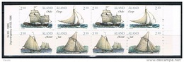 Aland 1995 - Mint Booklet Ships (2 Sets) - The 10th Anniversary Of Aaland Stamps - Aland