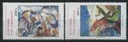 1991 Cipro Del Nord, Arte Contemporanea, Serie Completa Nuova (**) - Nuovi