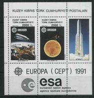 1991 Cipro Del Nord, Europa, Serie Completa Nuova (**) - Nuovi