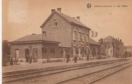 Mousty (Céroux Mousty ,Ottignies )  La Gare ( Intérieur  , Station , Statie , Train ) - Ottignies-Louvain-la-Neuve