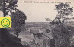 Treguier - Vue Sur La Rivière Et Le Village De Plouguiel - Tréguier