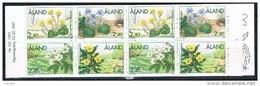 Aland 1997 - Mint Booklet Flowers (2 Sets) - Aland