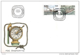 Aland 1997 - FDC Ships - Aland