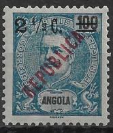 Angola – 1919 King Carlos Local REPUBLICA Overprint - Angola