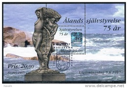 Aland 1997 - The 75th Anniversary Of The Independence Of Aaland Used - Aland