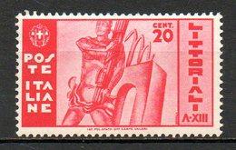 ITALIE (Royaume) - 1935 - N° 357 Et 358 - (Journée De La Culture Et Des Arts, à Rome) - Nuovi