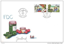 Aland 1998 - FDC Agriculture - Aland