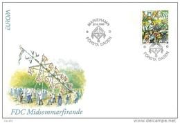 Aland 1998 - FDC Europa CEPT - Festivals And National Celebrations - Aland