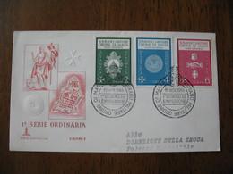 FDC - Lettre  1966  -  Sovrano Militare Ordine Di Malta - Malte (Ordre De)