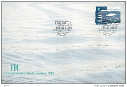 Aland 1998 - FDC Ocean Year - Aland