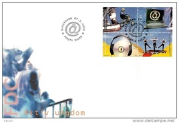 Aland 1998 - FDC Youth Activities - Aland