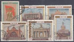URSS / RUSIA 1954 Nº 1714/1719 USADO - 1923-1991 URSS