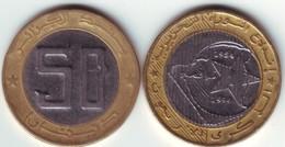 Algérie - Pièce De 50,00 DA  Commémorative 1994 (ayant Circulé) - Algérie