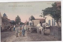 Saône-et-Loire - Charnay-les-Chalon - Grande Rue - France