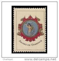 France WWI Arms De Varsovie Vignette  Military Heritage Poster Stamp - Military Heritage