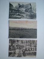 France Guerre 14-18 WW1 Ruines De Guerre Alsace Lorraine - Guerra 1914-18