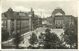 Chemnitz (Deutschland, Sachsen) Museum Und Opernhaus, Museo E Teatro Dell'Opera - Chemnitz
