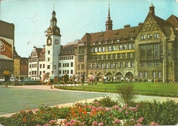 Chemnitz Karl-Marx-Stadt (Deutschland, Sachsen) Rathaus, Town Hall, Hotel De Ville, Municipio - Chemnitz (Karl-Marx-Stadt 1953-1990)