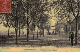 C.P.A. 81.Tarn. Labruguière. Promenade De Notre Dame  (en L'état) - Labruguière