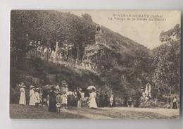 SAINT ALBAN LES EAUX ( 42 - Loire ) - La Vierge De La Vallée Du Désert - PROCESSION - Animée - St Alban Les Eaux - Autres Communes