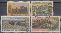 URSS / RUSIA 1954 Nº 1724/1727 USADO - 1923-1991 URSS