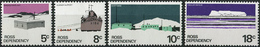 Ross Dependency 1979. Michel #11/14-W MNH/Luxe. Antarctic. Ship Delivery. Scott Base. (Ts15) - Dépendance De Ross (Nouvelle Zélande)