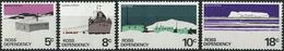 Ross Dependency 1979. Michel #11/14-W MNH/Luxe. Antarctic. Ship Delivery. Scott Base. (Ts15) - Dependencia Ross (Nueva Zelanda)