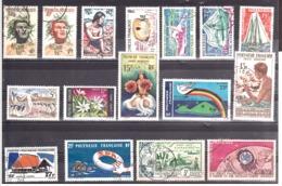 Polynésie Française - Lot De Timbres Oblitérés - Cote 60 - Bon état - Polynésie Française