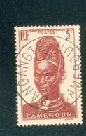 CAMEROUN KAMERUN N°165 OB  BUREAU RARE BANGANGTE 23 MAI 1945 TB - Cameroun (1915-1959)