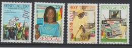 Sénégal 2006/2010 Mi. 2152 - 2155 Démocratie Et Liberté Freedom Democracy Freiheit - Senegal (1960-...)