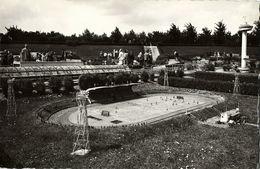 Netherlands, DEN HAAG, Miniature Park Madurodam Stadion (1950s) Stadium Postcard - Voetbal
