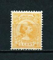 Holanda  Nº Yvert  34a  En Nuevo* - Periodo 1891 – 1948 (Wilhelmina)