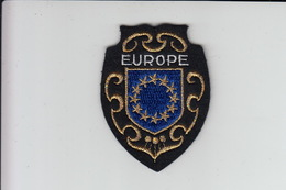 ECUSSON Tissu Brodé - EUROPE - Ecussons Tissu
