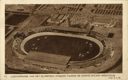 Netherlands, AMSTERDAM, Olympisch Stadion (1928) Olympic Stadium Postcard - Voetbal