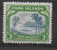 COOK - YVERT N°61 * MH  - COTE = 40 EUR. - Cook