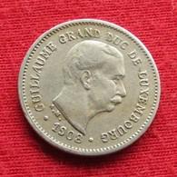 Luxembourg 5 Centimes 1908 KM# 26 *V1 Luxemburgo Luxemburg - Luxembourg