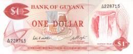1 Dollar Guyans 1966 - Guyana