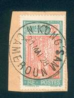 CAMEROUN KAMERUN N°115 SUR FRAGMENT OB. N'KONG SAM 21 MAI 1928 TB - Cameroun (1915-1959)