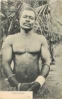Themes Div-ref AA406- Ethnique Et Culture - Afrique - Cote D Ivoire - Type Krooman - Carte Bon Etat  - - Afrique