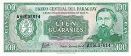 100 Guaranies Paraquay 1952 - Paraguay